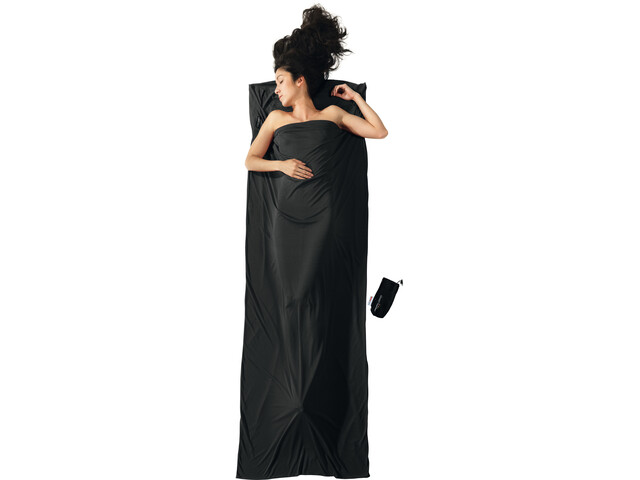 Cocoon TravelSheet Thermolite Performer, volcano black